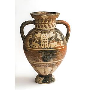 Eccezionale anfora etrusco-corinzia Fine del ...