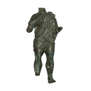 Roman male bronze statuette 1st - 2nd ...