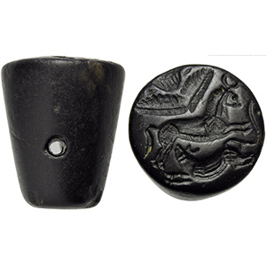 Achaemenid Jasper Seal 5th - 4th century BC; ...