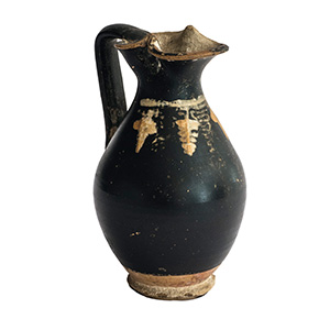 Oinochoe miniaturistico in ceramica di ...