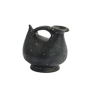 Black-glazed Askos Magna Graecia, 4th - 3rd ...