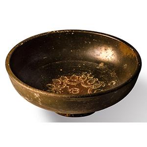 Black-glazed Bowl 3rd - 2nd century BC; ...