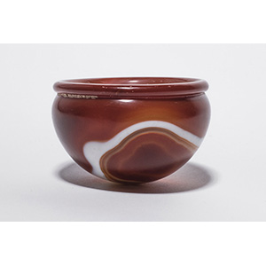 A beautiful Banded Agate Bowl  Eastern ...