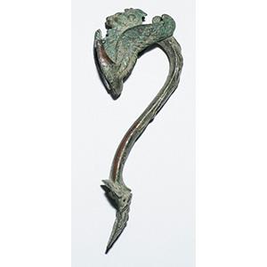 An Roman archaizing bronze Oinochoe handle ...