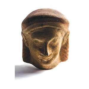 Antefix in the shape of male headMagna ...