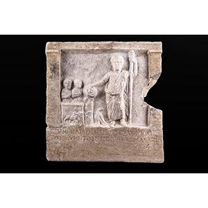 Votive stele dedicate to Zeus Cyzicus (Asia ...