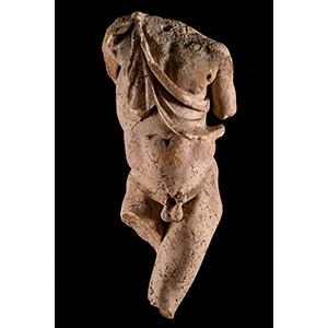 A outstanding Leaning Satyr by Praxiteles ...