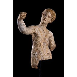 Terracotta Tanagra style female figure Magna ...
