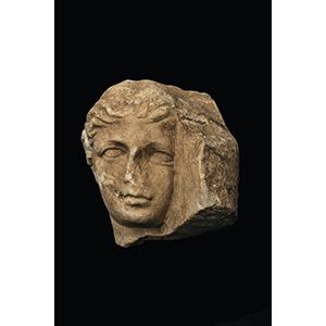 Relief fragment with Apollo 1st century BC - ...