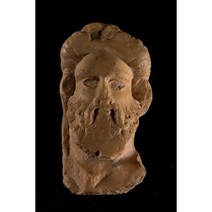 Giallo Antico marble Herm head of Silenus ...