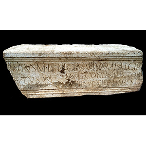Inscribed Architrave 1st century BC - 1st ...