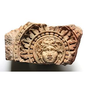 Medusa head Clipeus 2nd - 3rd century AD; ...