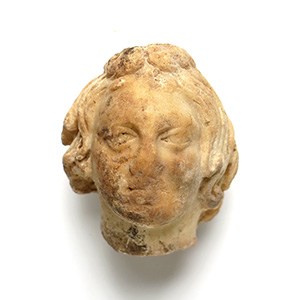 Head of a youth 2nd- 3rd century AD; height ...
