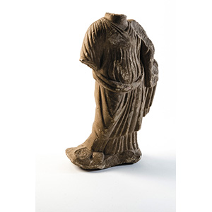 Statuette of Fortuna 2nd - 3rd century AD; ...