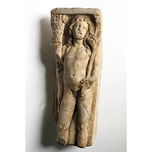 Sarcophagus fragment 3rd - 4th century AD; ...