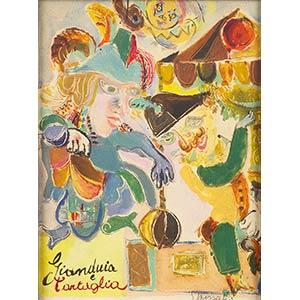 EMANUELE LUZZATIGenoa, 1921 - 2007Gianduia ...