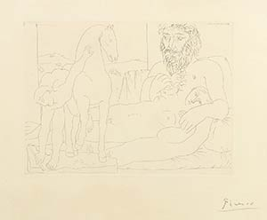 PABLO PICASSOMalaga, 1881 - Mougins, 1973The ...