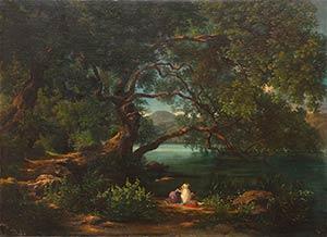 AURELIO AMICIRome, 1832 - 1889Landscape with ...