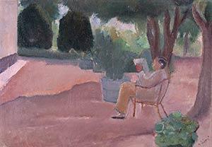 ALBERTO ZIVERI Rome, 1908 - 1990Men reading ...