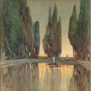 ONORATO CARLANDIRome, 1848-1939Villa ...