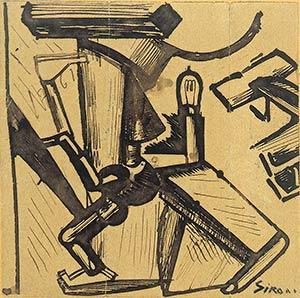 MARIO SIRONISassari, 1885 - Milan, 1961The ...