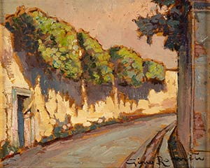 GINO ROMITILivorno, 1881 - 1967LandscapeOil ...