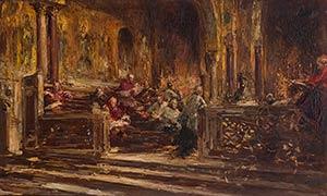 PABLO SALINAS Madrid, 1871 - Rome, ...