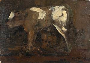 CARLO MATTIOLIModena, 1911 - Parma, 1994Cow ...