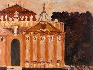 CARLO QUAGLIATerni, 1903 - Rome, 1970Villa ...