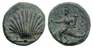 Southern Apulia, Tarentum, c. 275-200 BC. Æ ...