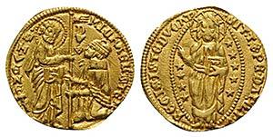 Italy, Venezia. Michele Steno (1400-1413). ...