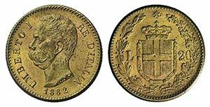 Italy, Regno dItalia. Umberto I ...