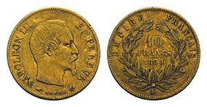 France, Napoléon III (1852-1870). AV 10 ...