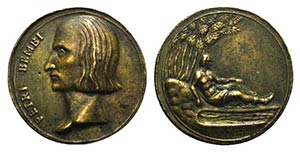 Italy, Pietro Bembo (1470-1457). Æ Medal ...