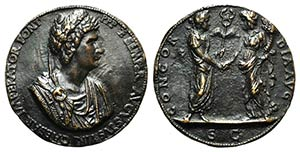 Constantine I The Great, Bronze Medal 1468 ...