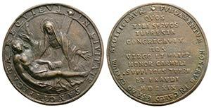 Santa Teresa dAvila (1515-1582). Æ Cast ...