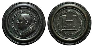 Papal, Paolo II (1464-1471). Æ Medal 1465 ...