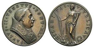 Papal, Paolo II (1464-1471). Æ Medal, 19th ...