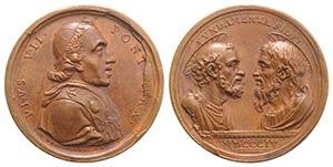 Papal, Pio VII (1800-1823). Barnaba Gregorio ...