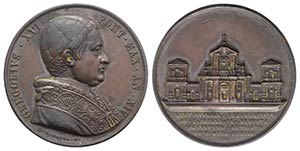 Papal, Gregorio XVI (1831-1846). Ampliament ...