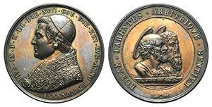 Papal, Pio IX (1846-1878). Æ Medal 1846 ...