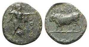 Northern Lucania, Poseidonia, 420-405 BC. Æ ...
