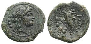 Northern Lucania, Paestum, after 211 BC. Æ ...