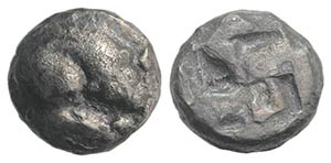 Northern Lucania, Velia, c. 535-480 BC. AR ...