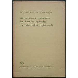Berghaus P., Schneider K., Anglo-friesische ...