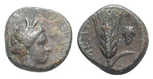 Southern Lucania, Metapontion, c. 300-275 ...