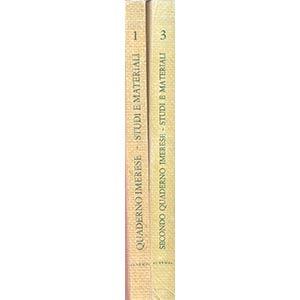 A.A V.V.  Quaderno Imerese 1.  pp. XXVII+ ...