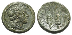 Southern Lucania, Metapontion, c. 225-200 ...