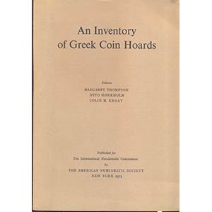 AA. VV. - An inventory of Greek Coin Hoard. ...