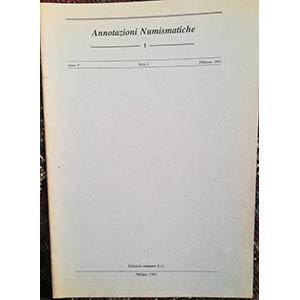 AA. VV. – Annotazioni numismatiche. ...